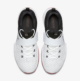 JORDAN TRAINER 2 FLYKNIT White/Black/Gym Red/Black