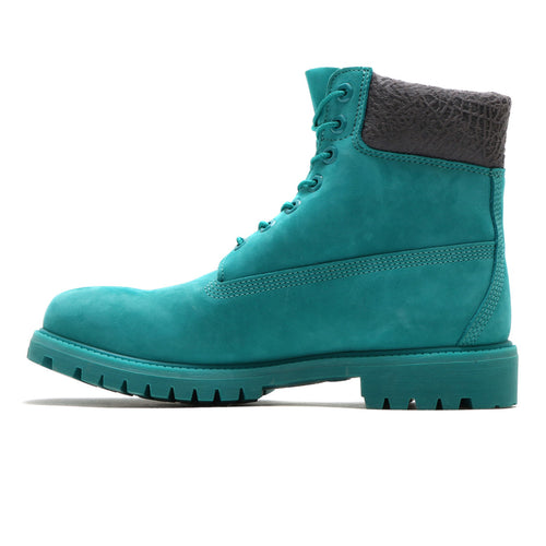 "TIMBERLAND ATMOS EXCLUSIVE 6 INCH PREMIUM BOOTS ""ATMOS EXCLUSIVE"" - TEAL BLUE WATERBUCK"