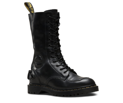 DR. MARTENS NEILSON MILLED SMOOTH - Black