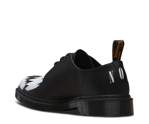 DR. MARTEN x PLEASURES 1461 TEETH - Black
