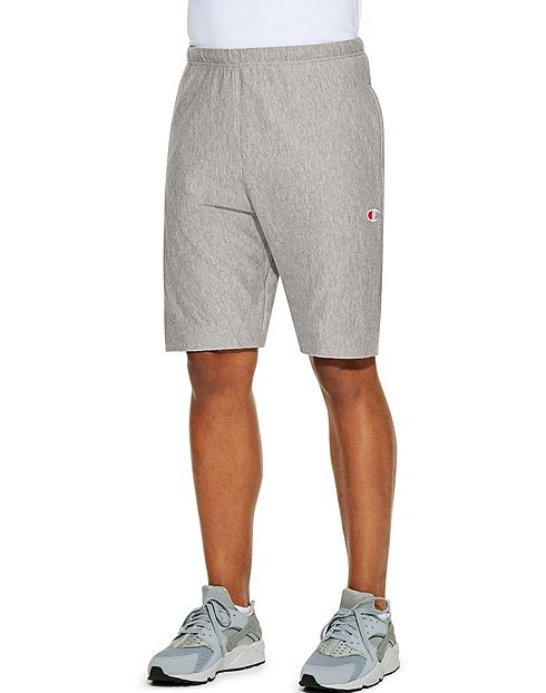 Champion Life™ Reverse Weave® Men's French Terry Shorts - OXFORD GREY