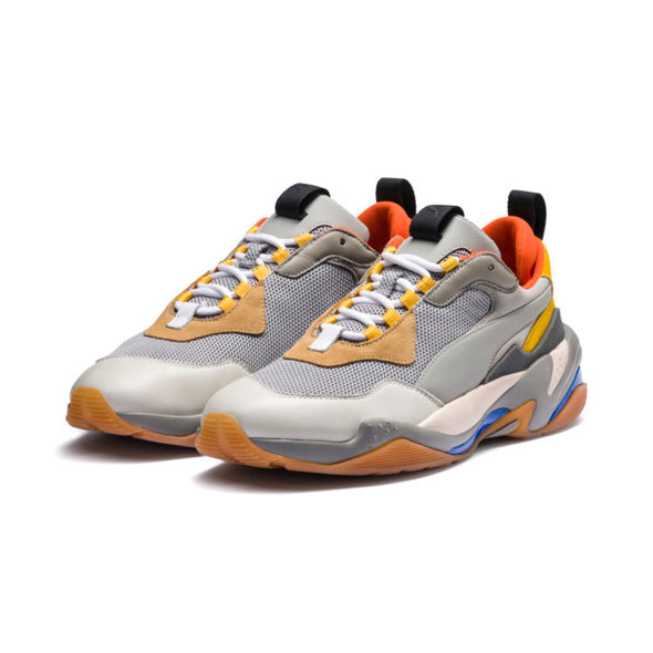 PUMA JR. Thunder Spectra Sneakers - Drizzle-Drizzle-Steel Gray