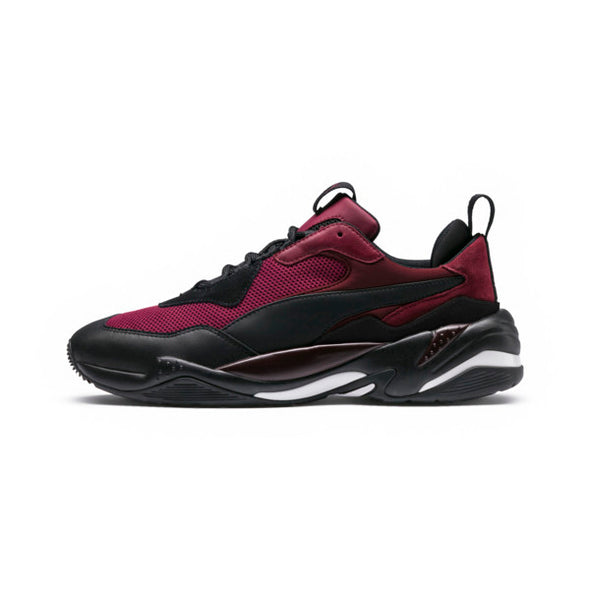 PUMA JR. Thunder Spectra Sneakers - Rhododendron-P Black-T Port