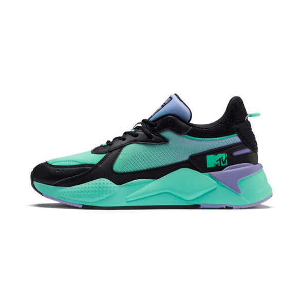 PUMA x MTV RS-X GRADIENT GLOOM - Puma Black / Sweet Lavender