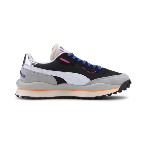 PUMA RIDER 020 PLAY ON - Puma Black / High Rise Grey / Violet