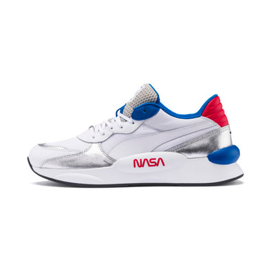 RS 9.8 Space Agency Sneakers - Silver / Blue / Red