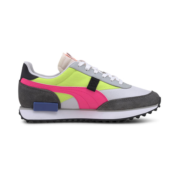 WOMEN'S PUMA RIDER PLAY ON - Castlerock / Alert Yellow