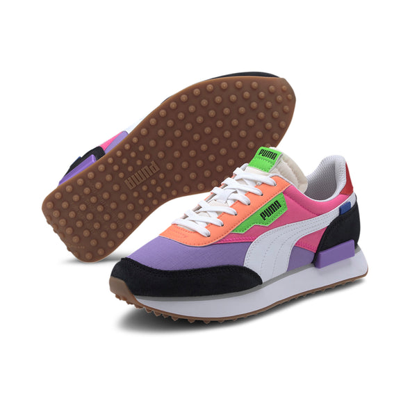 WOMEN'S PUMA RIDER PLAY ON - Luminous Purple / Fluo Pink