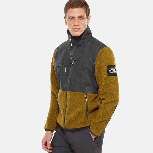 TNF 'BLACK LABEL' DENALI FLEECE - ASPHALT GREY/FIR GREEN