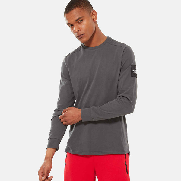 THE NORTH FACE FINE 2 L/S SHIRT - Grey