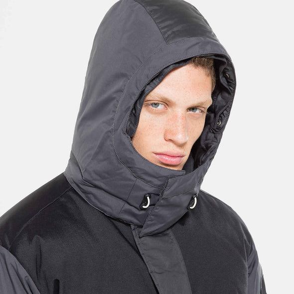 THE NORTH FACE BLACK BOX V-STOK PARKA - ASPHALT GREY/TNF BLACK