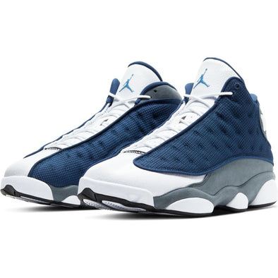 "AIR JORDAN 13 RETRO ""FLINT"" - NAVY/UNIVERSITY BLUE"