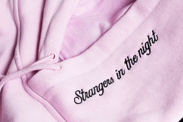 AFTER MIDNIGHT STRANGERS IN THE NIGHT PULLOVER - Pink