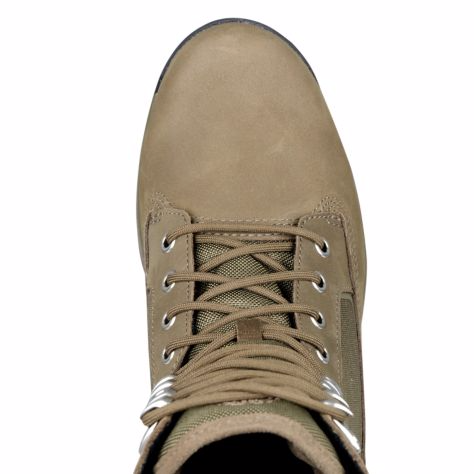 TIMBERLAND MEN'S FIELD GUIDE TALL BOOTS - DARK OLIVE NUBUCK