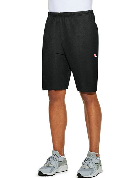 Champion Life™ Reverse Weave® Men's French Terry Shorts - BLACK