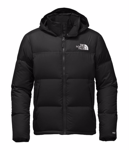 THE NORTH FACE MEN'S NOVELTY NUPTSE JACKET - TNF BLACK / TNF BLACK