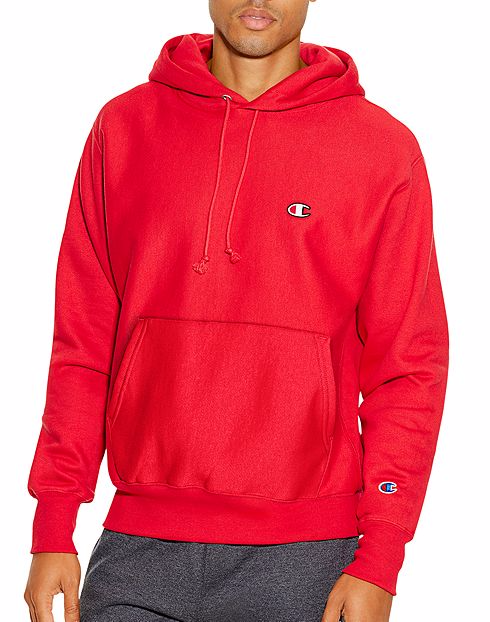 CHAMPION LIFE™ MEN'S REVERSE WEAVE® PULLOVER HOODIE -  SILVER GREY