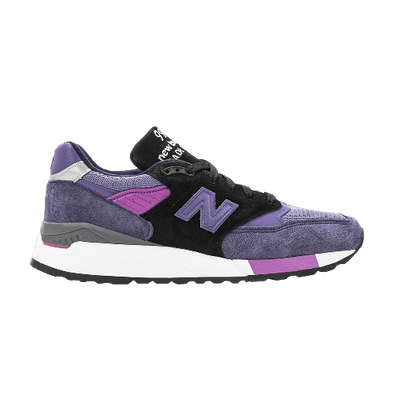 MEN'S NEW BALANCE MADE IN USA 998 - Purple / Grey / Black