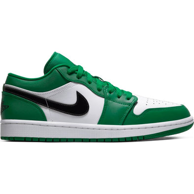 MEN'S AIR JORDAN 1 LOW - PINE GREEN/BLACK-WHITE