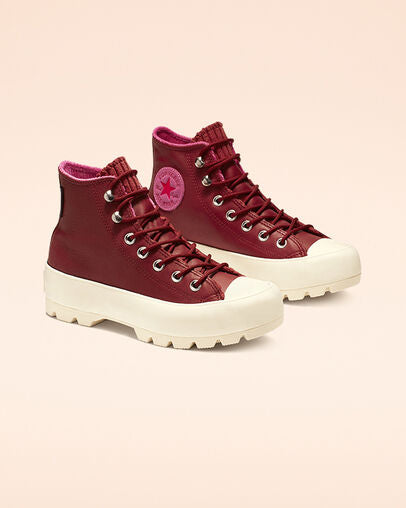 CONVERSE CTAS LUGGED WINTER HI - Brick