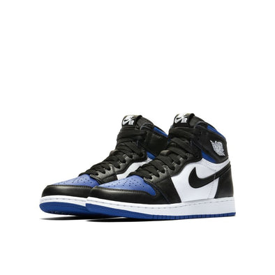 Air Jordan 1 Retro High OG GS - BLACK/BLACK-WHITE-GAME ROYAL