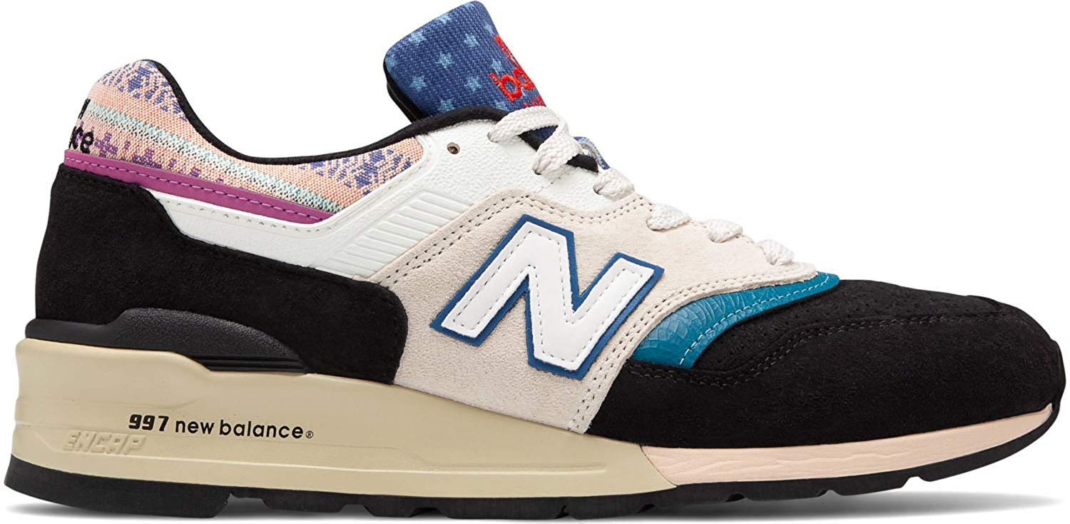 plus récent d1b03 0ffea NEW BALANCE 997 Made in USA - Black/Beige