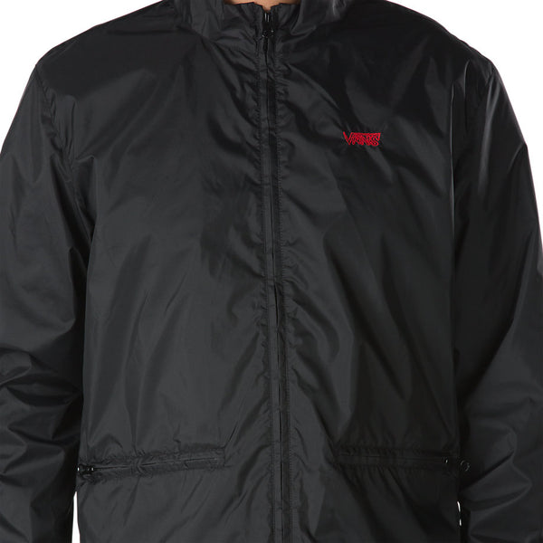 VANS NYLON TRACK JACKET - Black