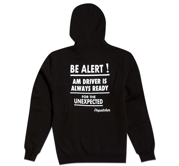 AFTER MIDNIGHT TAXI DRIVER PULLOVER - Black