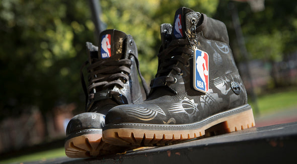 MEN'S TIMBERLAND X NBA EAST VS. WEST 6-INCH BOOTS - Black / Black