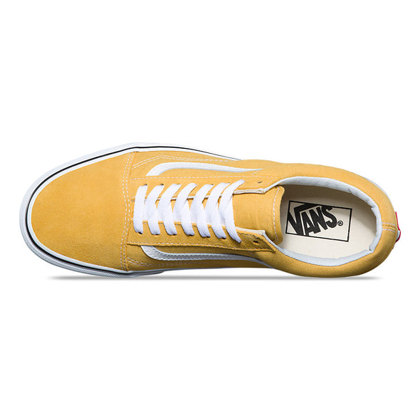 VANS OLD SKOOL - Ochre Yellow / True White