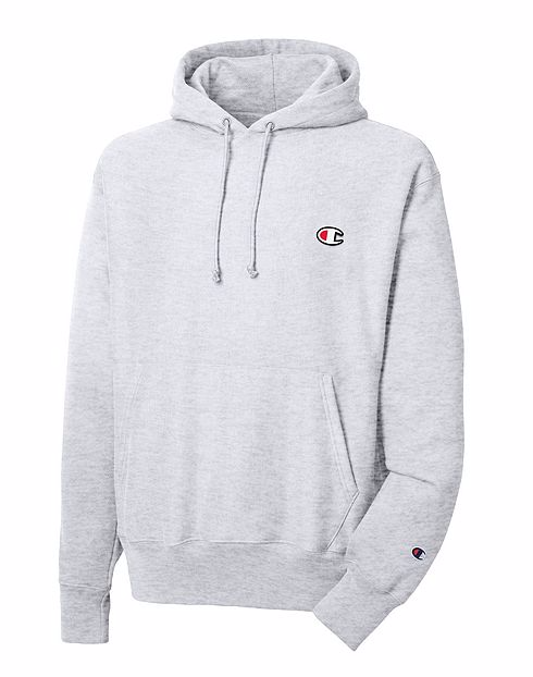 CHAMPION LIFE™ MEN S REVERSE WEAVE® PULLOVER HOODIE - SILVER GREY – Atmos  New York 58b76a960258
