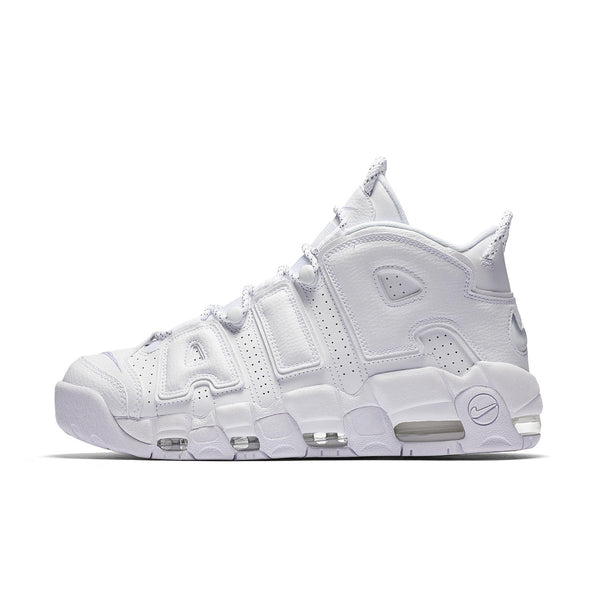 Air More Uptempo White On White