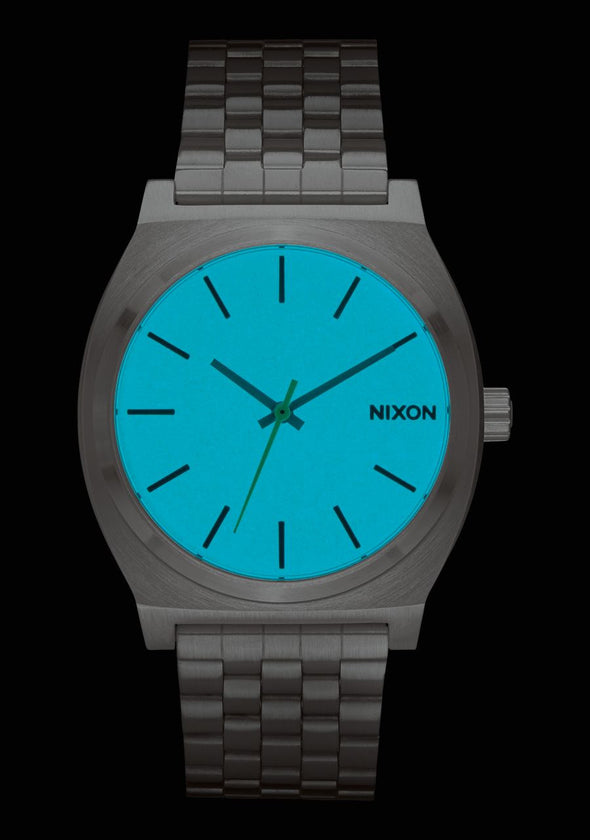 Nixon Time Teller 37MM Watch -SEAFOAM LUM