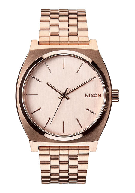Nixon Time Teller 37MM Watch - LIGHT GOLD / COBALT