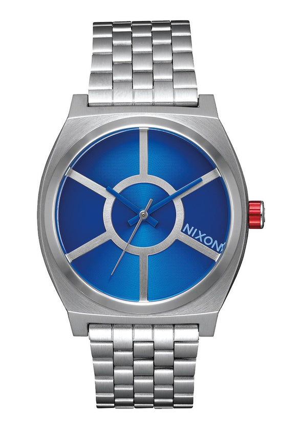 "NIXON ""Star Wars Series""  TIME TELLER SW  37 MM - R2D2 BLUE"