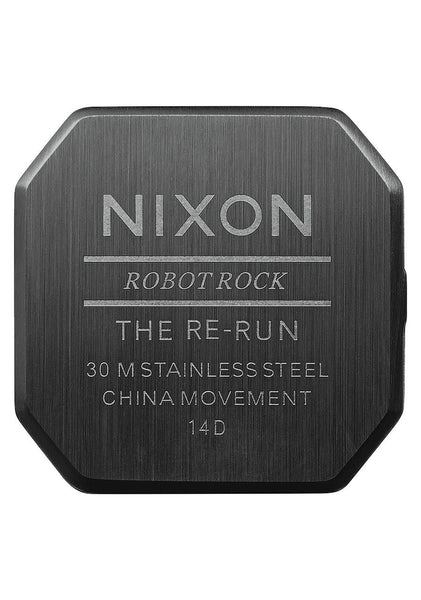 Nixon Re-Run 38MM Watch - ALL BLACK