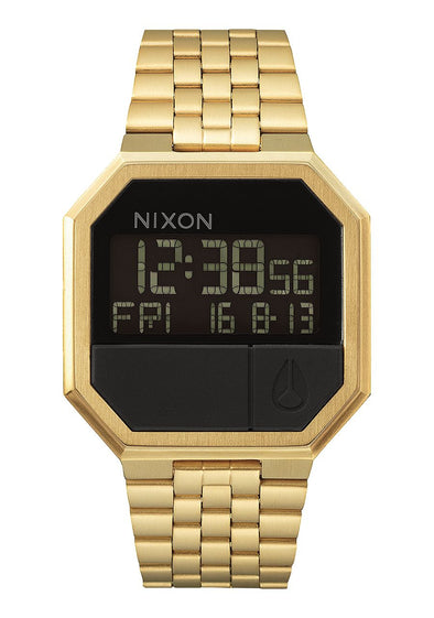 Nixon Re-Run 38MM Watch - ALL GOLD