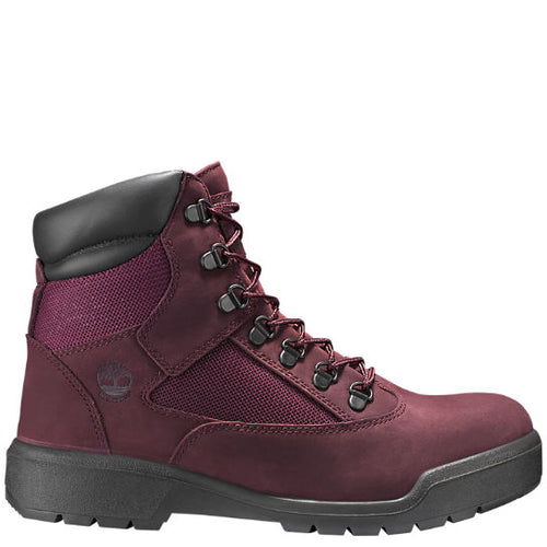 TIMBERLAND MEN'S LIMITED RELEASE WATERPROOF 6-INCH FIELD BOOTS - DARK PORT