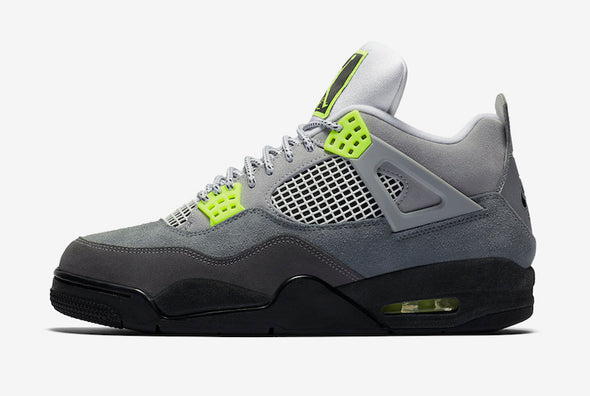 MEN'S AIR JORDAN IV '95 RETRO SE - COOL GREY/VOLT-WOLF GREY-ANTHRACITE