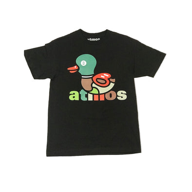 ATMOS NYC '15th Anniversary'  DUCK CAMO TEE - BLACK