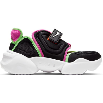 WMNS NIKE AQUA RIFT - BLACK/WHITE-FIRE PINK-GREEN STRIKE