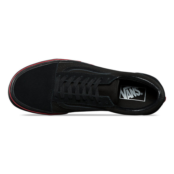 VANS OLD SKOOL FLAME WALL - Black