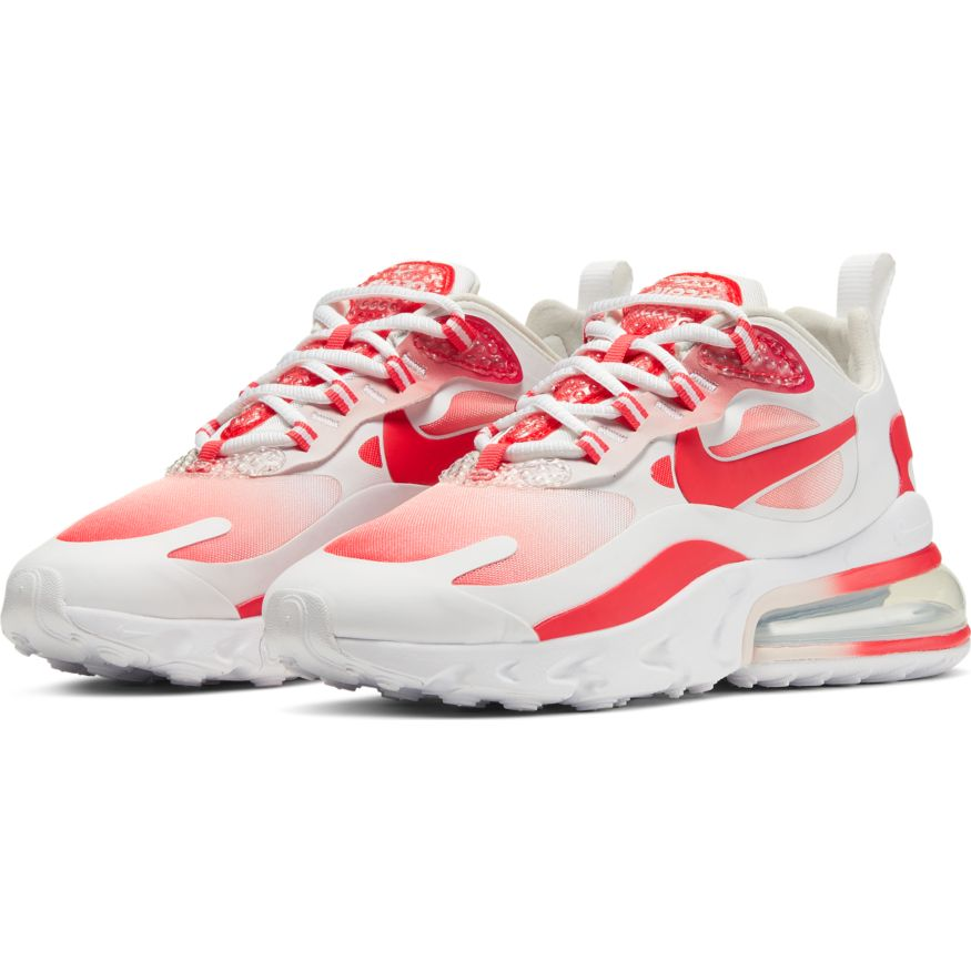 Wmns Nike Air Max 270 React Se White Track Red Barely Rose Atmos New York