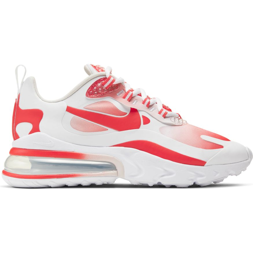 Wmns Nike Air Max 270 React Se White Track Red Barely Rose