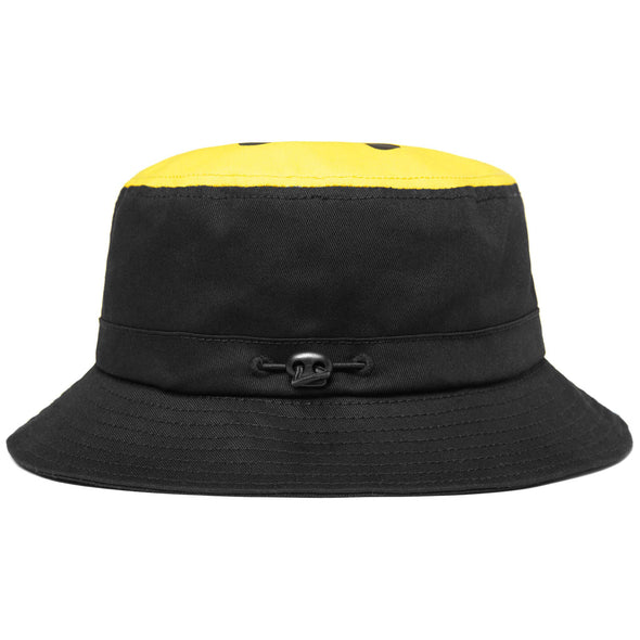 CHINATOWN MARKET SMILEY BUCKET HAT - BLACK