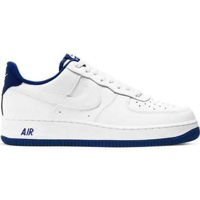 MEN'S NIKE AIR FORCE 1 '07 - WHITE/DEEP ROYAL-WHITE