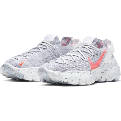 WOMEN'S NIKE SPACE HIPPIE 04 - SUMMIT WHITE/HYPER CRIMSON