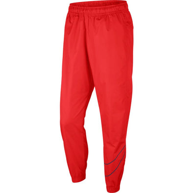 MEN'S NIKE SB SKATE TRACK PANTS - UNIVERSITY RED/MIDNIGHT NAVY