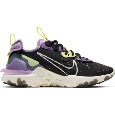 WMNS NIKE REACT VISION - BLACK/SAIL-DK SMOKE GREY/GRAVITY PURPLE