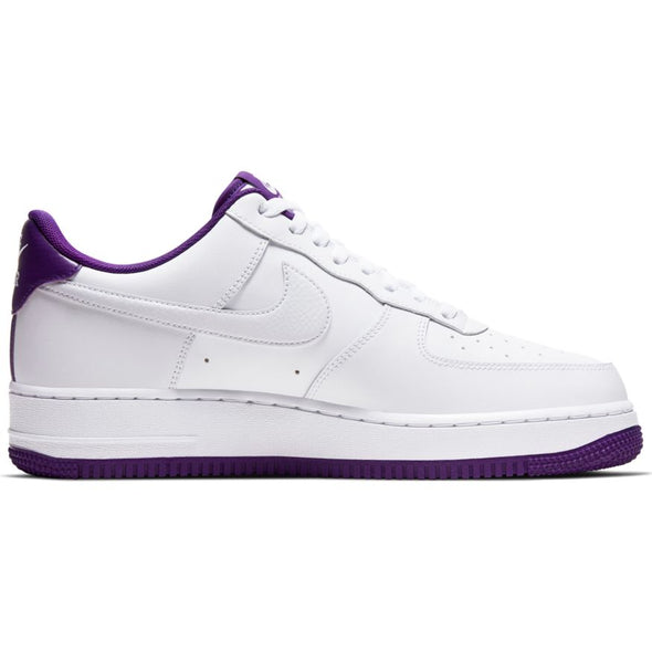 Nike Air Force 1 '07 - WHITE/WHITE-VOLTAGE PURPLE